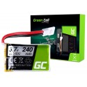 Bateria Akumulator Green Cell do Syma S026 S026G S105 S107 S108 S108G 3.7V 240mAh
