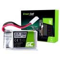Bateria Akumulator Green Cell do Syma X11 X11C X13 Storm 3.7V 250mAh