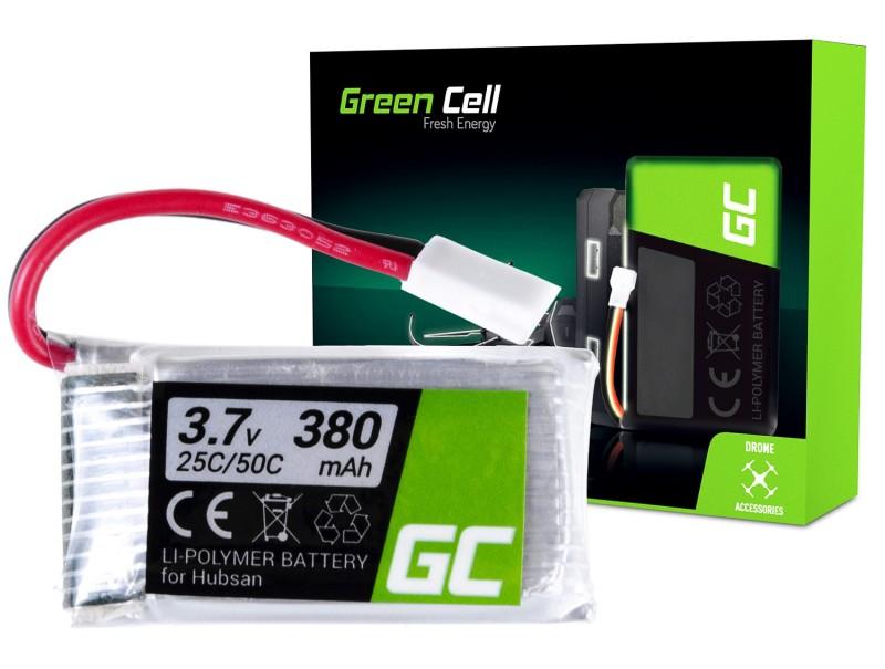 Batterie Green Cell ® für Hubsan H107 H107C H107CHD H107L 3.7V 380mAh