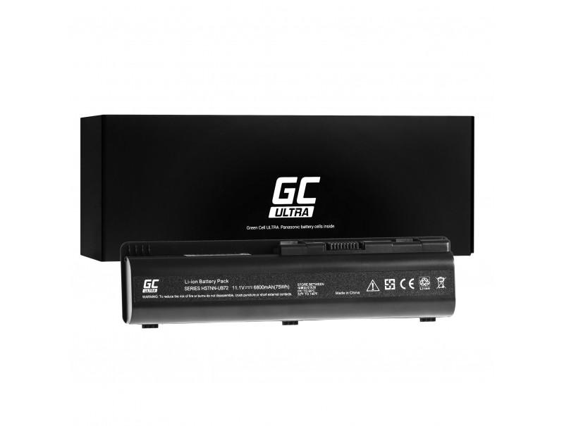 Laptop Battery Green Cell ULTRA HSTNN-LB72 HSTNN-IB72 for HP G50 G60 G61 G70 Compaq Presario CQ60 CQ61 CQ70 CQ71 6800mAh
