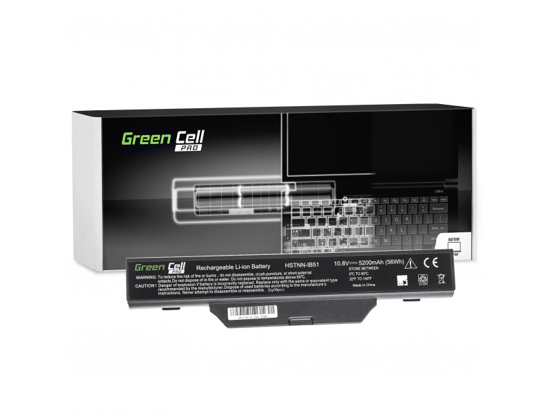 Bateria Green Cell PRO HSTNN-IB51 do HP 550 610 HP Compaq 6720s 6820s