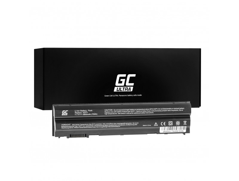 Laptop Battery Green Cell ULTRA T54FJ 8858X for Dell Inspiron 14R N5010 N7010 N7110 15R 5520 17R 5720 Latitude E6420 E6520