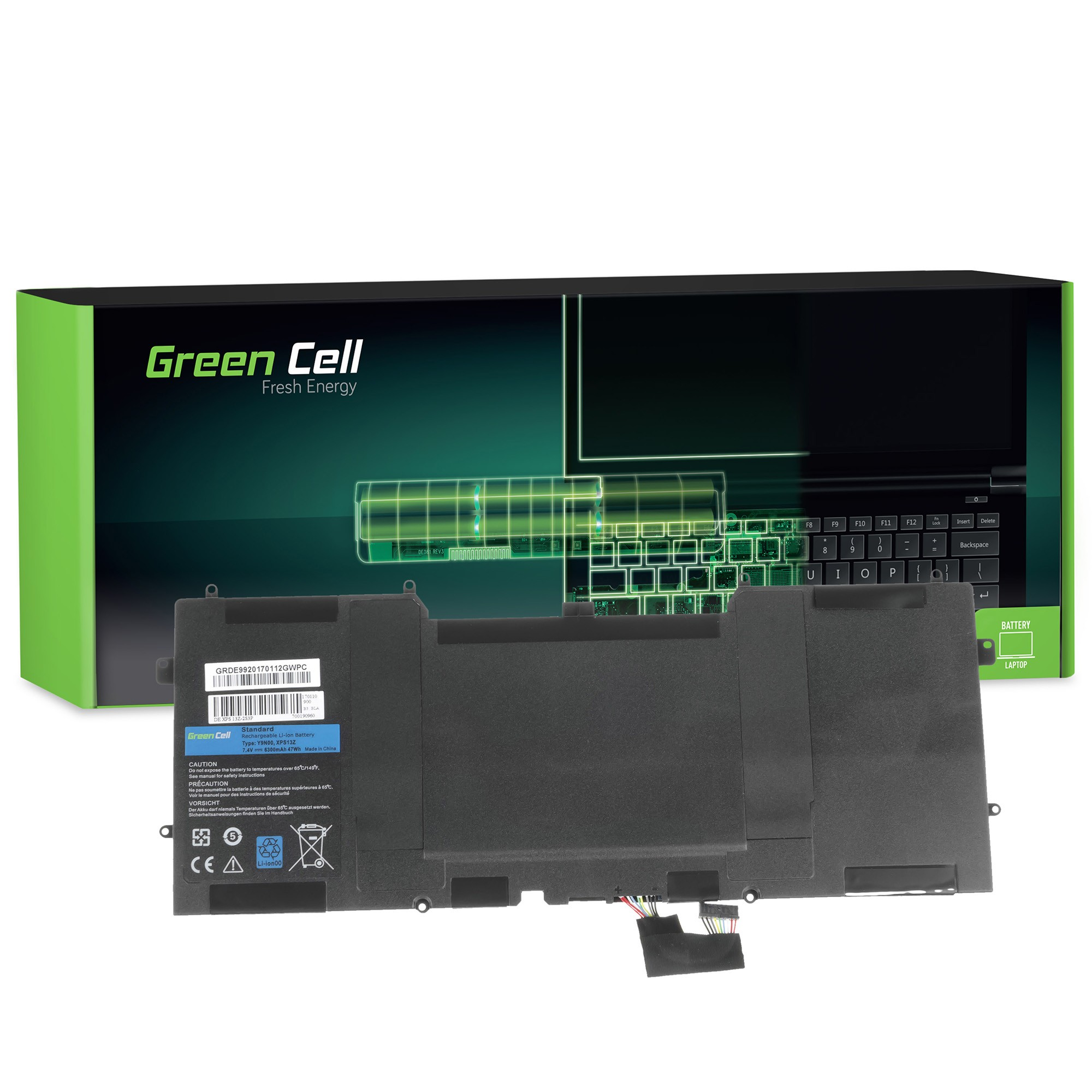 Pleasing Green Cell Pro Laptop Akku Y9N00 Fur Dell Xps 13 9333 Home Interior And Landscaping Mentranervesignezvosmurscom