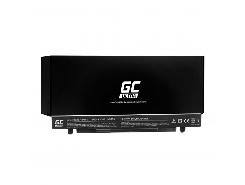 Laptop Battery Green Cell ULTRA A41-X550A for A450 A550 R510 R510CA X550 X550CA X550CC X550VC 3400mAh