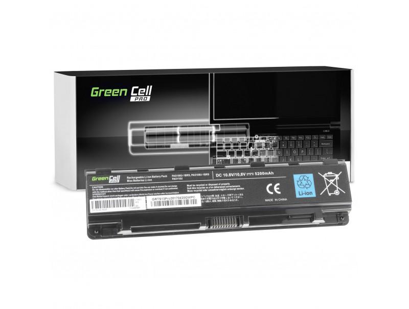Green Cell ® PRO Akku PA5109U-1BRS für Toshiba Satellite C50 C50D C55 C55D C70 C75 L70 P70 P75 S70 S75