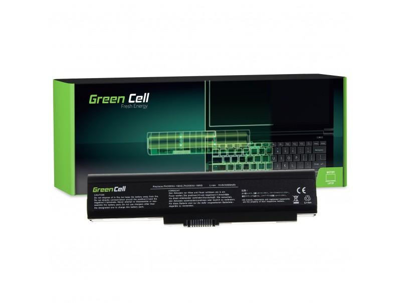 Bateria Green Cell PA3593U-1BRS PA3593U-1BAS do Toshiba Satellite U300 U305
