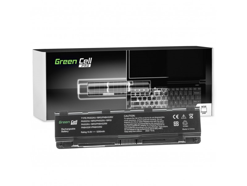 Laptop battery PA5024U-1BRS PA5109U-1BRS for Toshiba Satellite C850 L850 C855 L855 5200mAh