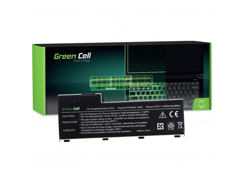 Bateria Green Cell PA3479U-1BRS do Toshiba Satellite P100 P105