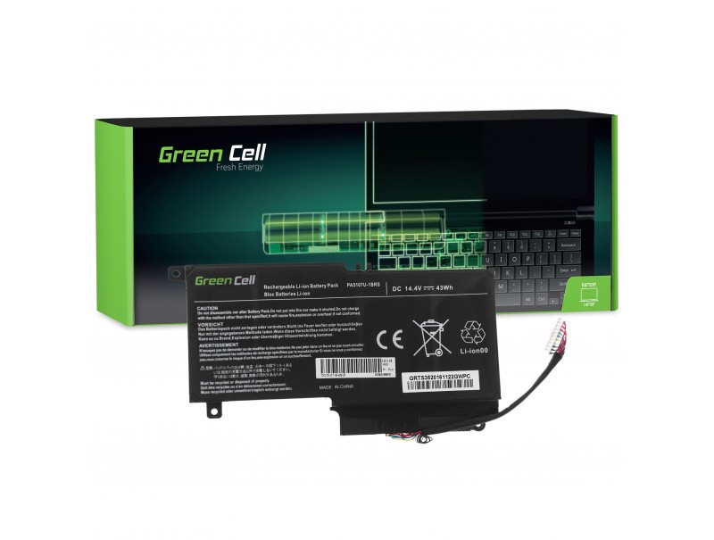 Green Cell Battery PA5107U-1BRS for Toshiba Satellite L50-A L50-A-1EK L50-A-19N P50-A S50-A