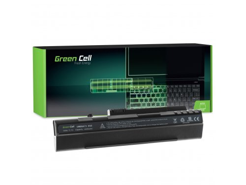 Bateria Green Cell UM08A31 UM08A72 UM08B31 do Acer Aspire One A110 A150 D150 D250 KAV60 ZG5