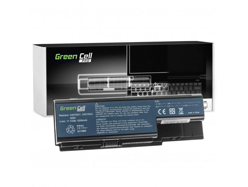 Bateria Green Cell PRO AS07B31 AS07B41 AS07B51 do Acer Aspire 5220 5520 5720 7720 7520 5315 5739 6930 5739G