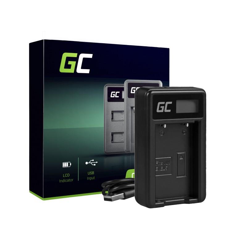 Camera Battery Charger MH-61 Green Cell ® for Nikon EN-EL5, Coolpix P100, P500, P530, P520, P510, P5100, P5000, P6000, P90, P80