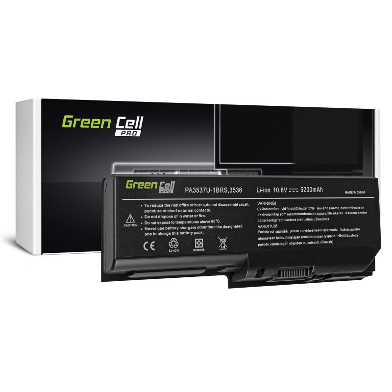 Bateria Green Cell PRO PA3536U-1BRS do Toshiba Satellite L350 L350D L355 L355D P200 P205 P300 P305