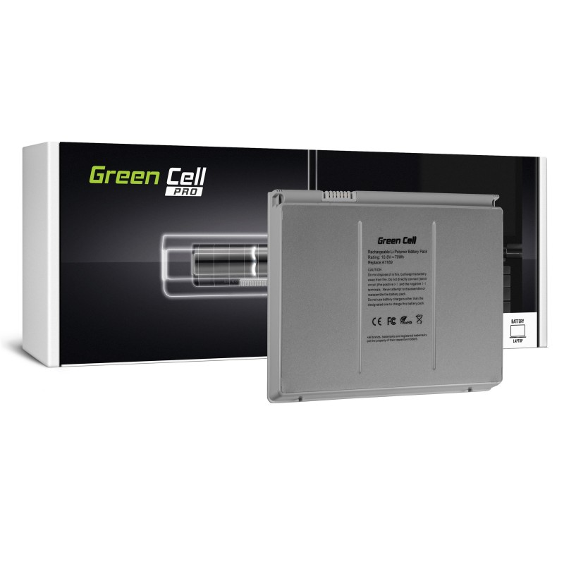 Green Cell ® PRO Laptop Battery A1189 for Apple MacBook Pro 17 A1151 A1212 A1229 A1261 2006-2008