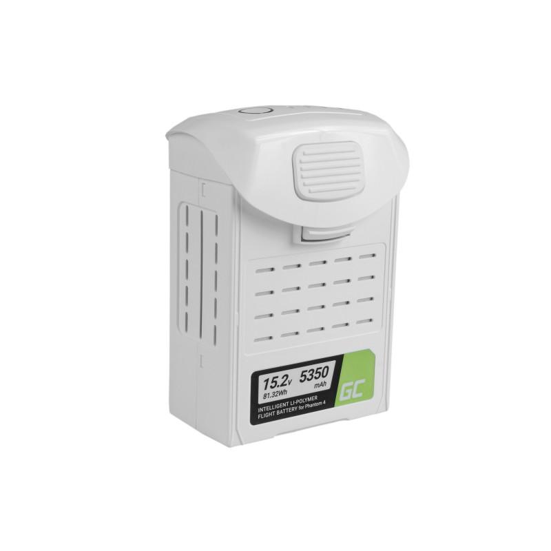 Batterie Green Cell pour drone DJI Phantom 4, Phantom 4 Pro, Phantom 4 Pro+ 5350mAh 15.2V