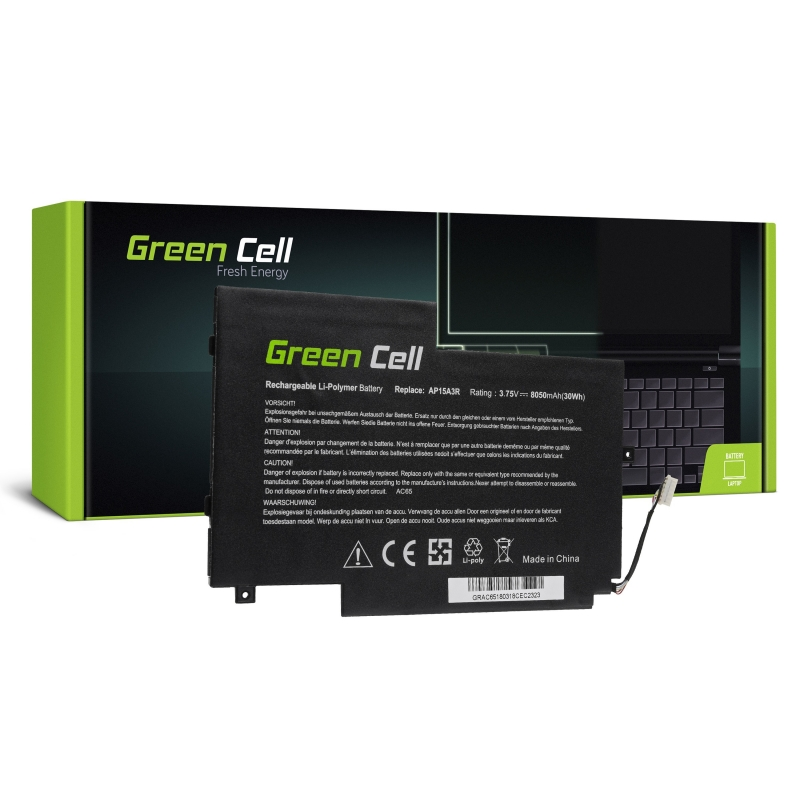 Laptop Battery Green Cell AP15A3R for Acer Aspire Switch 10 E SW3 SW3-013  SW3 ...