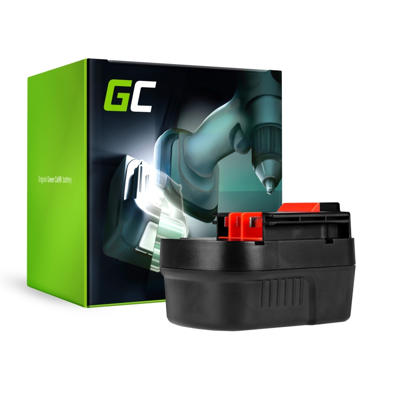 Green Cell ® Akku für Black&Decker HP126F3 12V 2Ah