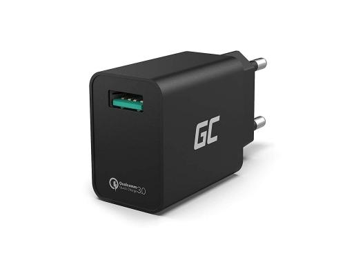 Ładowarka sieciowa Green Cell USB 18W z szybkim ładowaniem Quick Charge 3.0
