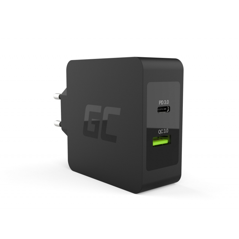 usb c power delivery 30w ladeger t green cell. Black Bedroom Furniture Sets. Home Design Ideas