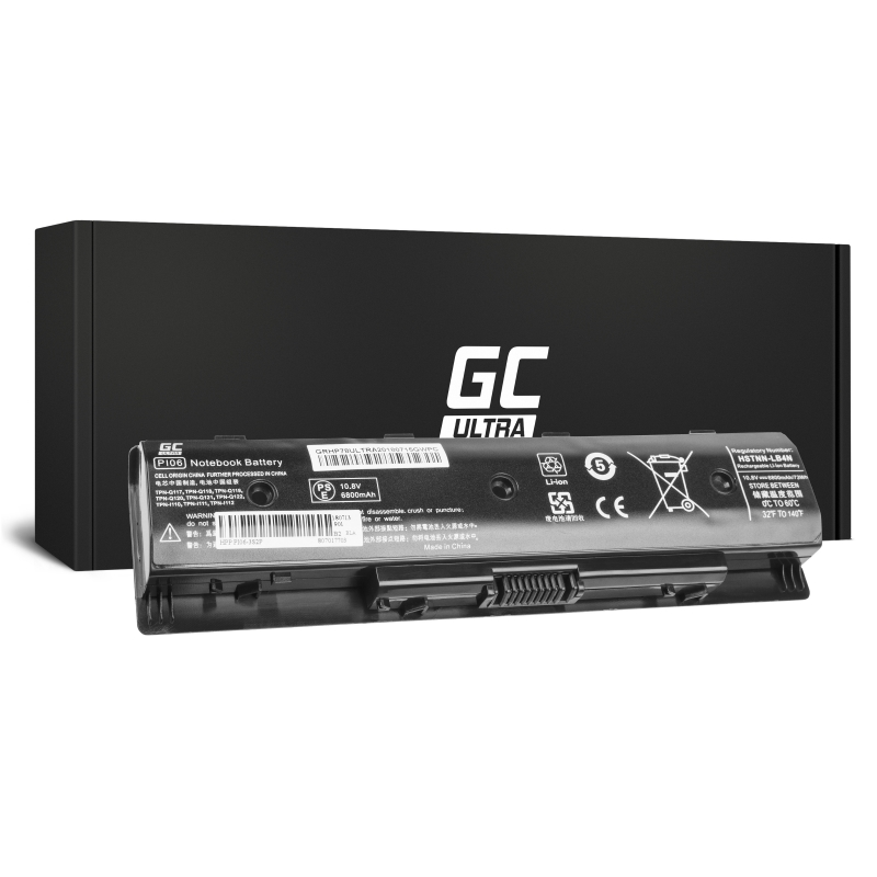 Green Cell ® ULTRA Laptop Battery PI06 PI06XL for HP Pavilion 15 17 Envy 15 17 M7