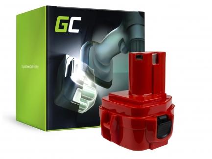 1.2V-12V-18V Ni-MH, Ni-CD pour Makita 6270DWALE 6270DWE 6270DWPE 6271D 6271DWAE 6271DWE 6271DWPE 6271DWPE3 6271DWPL 6271DWPLE Batterie Green Cell Chargeur