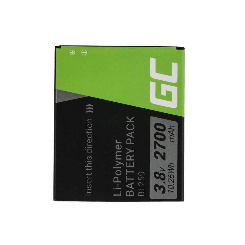 Green Cell ® Battery BL259 for Lenovo K3 K5 K5 Plus C2 Lemon 3