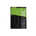 Green Cell ® Handy Akku BS-01 BS-02  für myPhone 1075 Halo 2