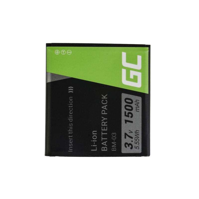 Green Cell ® Handy Akku BM-03 für myPhone C-Smart Funky