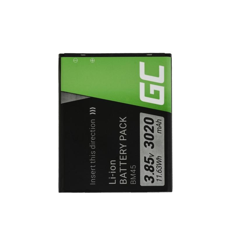 Green Cell ® Handy Akku BM45 für Xiaomi Redmi Note 2