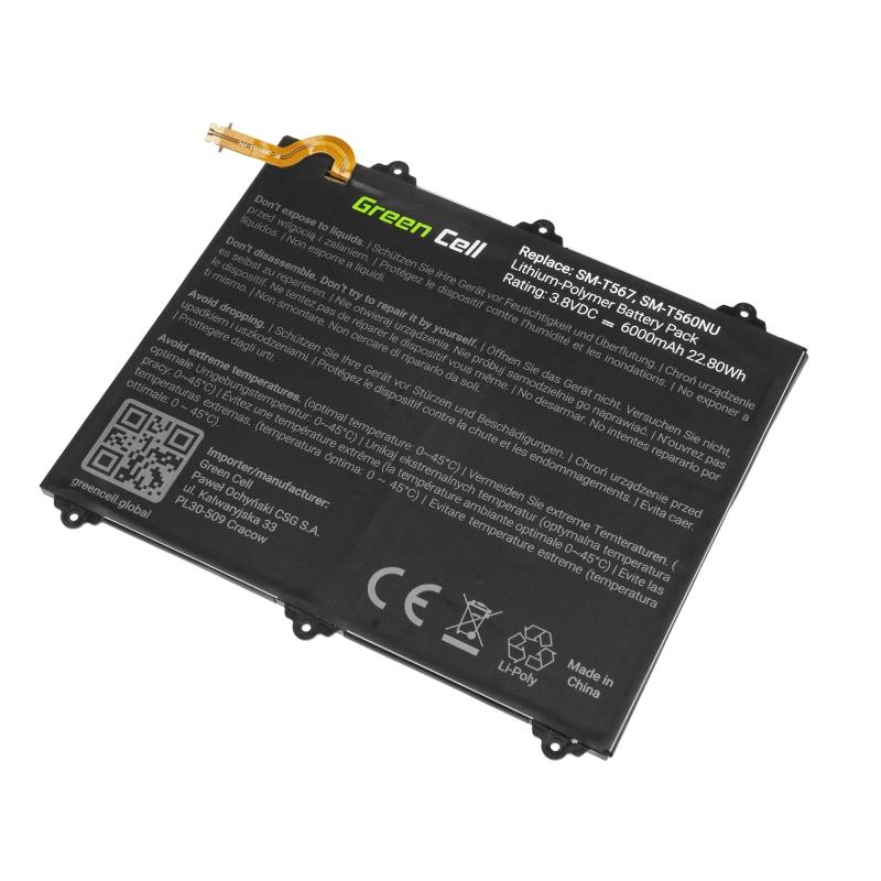 Green Cell Akku Eb Bt567aba Fur Samsung Galaxy Tab E 9 6 T560 T561