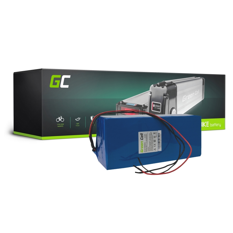 Accumulator Battery Green Cell Battery Pack 48V 17 4Ah 835Wh for Electric  Bike E-Bike Pedelec