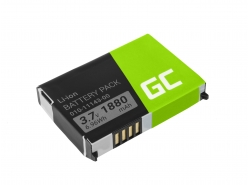 Battery 010-11143-00 Green Cell for GPS Garmin Aera 500 510 550 560 Nuvi 500 510 550 Zumo 210 600 650 660, 1880mAh