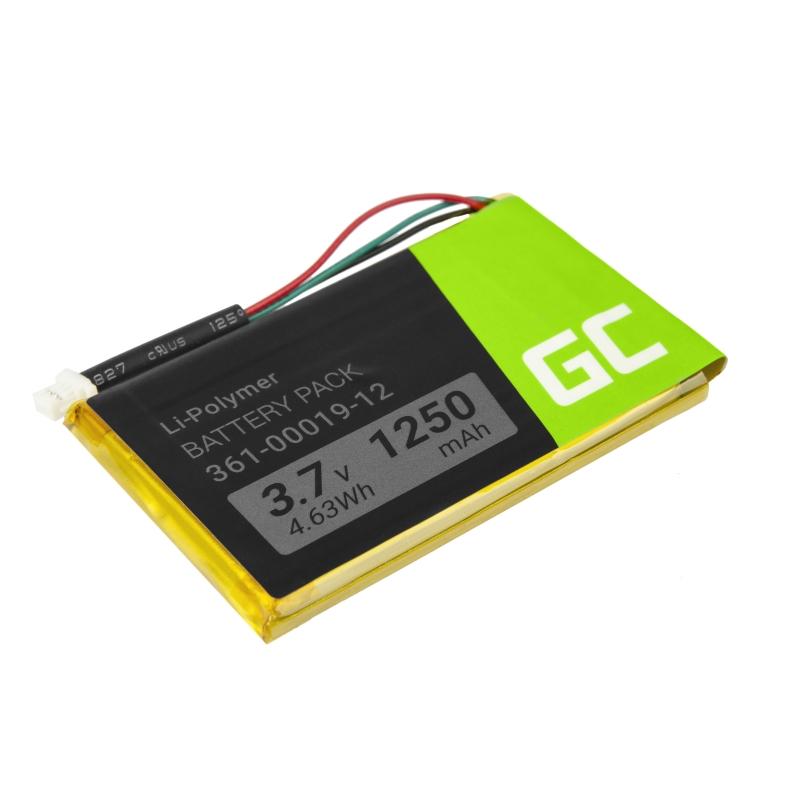 Bateria Green Cell® 361-00019-11 361-00019-16 do GPS Garmin Edge 605 705 Nuvi 200 285WT 710 1300 1350T