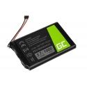Battery KE37BE49D0DX3 Green Cell for GPS Garmin Edge 800 810 Nuvi 1200 2300 2595LM, 1000mAh