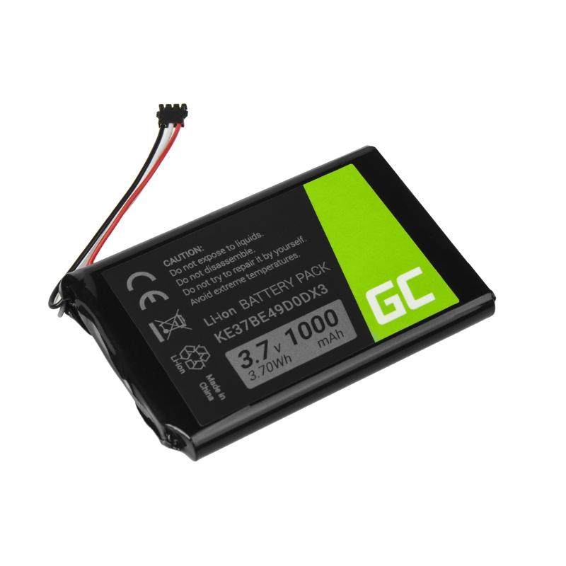 Green Cell ® Battery KE37BE49D0DX3 361-00035-00 for GPS Garmin Edge 800 810 Nuvi 1200 2300 2595LM