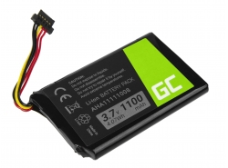 Battery VFAD AHA11111008 Green Cell for GPS TomTom 4FL50 Go 5100 6100 PRO TRUCK 5250 Trucker 6000, 1100mAh