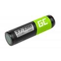 Battery VF5 Green Cell for GPS TomTom Go 300 530 700 910, 2300mAh