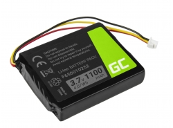 Battery F650010252 Green Cell for GPS TomTom One V1 V2 V3 XL Europe Regional Rider, 1100mAh