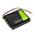Bateria F650010252 Green Cell do GPS TomTom One V1 V2 V3 XL Europe Regional Rider, 1100mAh