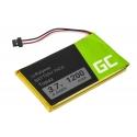 Battery Topaz Green Cell for GPS Navigon 70/71 Plus Easy Premium, 1200mAh