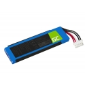 Battery GSP872693 01 Green Cell for Speaker JBL Flip 4 IV, 3000mAh