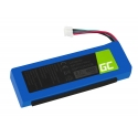 Battery GSP1029102R Green Cell for Speake  JBL Charge 2, 2+, Charge 3 2015 version, 6000mAh