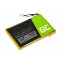 Battery Green Cell ® 1-756-769-11 for Sony Portable Reader System PRS-500 PRS-505, E-book reader, 750 mAh