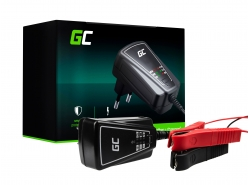 Green Cell Universal Charger for Motorbike Scooter AGM 6/12V 1A