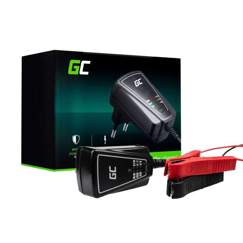 Automatyczna Ładowarka, Prostownik Green Cell do akumulatorów 6V / 12V (1A)