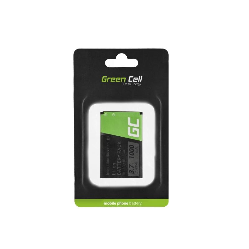 Bateria do telefonu Nokia 1200 1800 2600 3610 6600 E50 N91