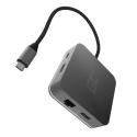 Stacja dokująca, Przejściówka, Adapter, HUB USB-C Green Cell 7 portów do Apple MacBook Pro, Dell XPS, Lenovo X1 Carbon i innych