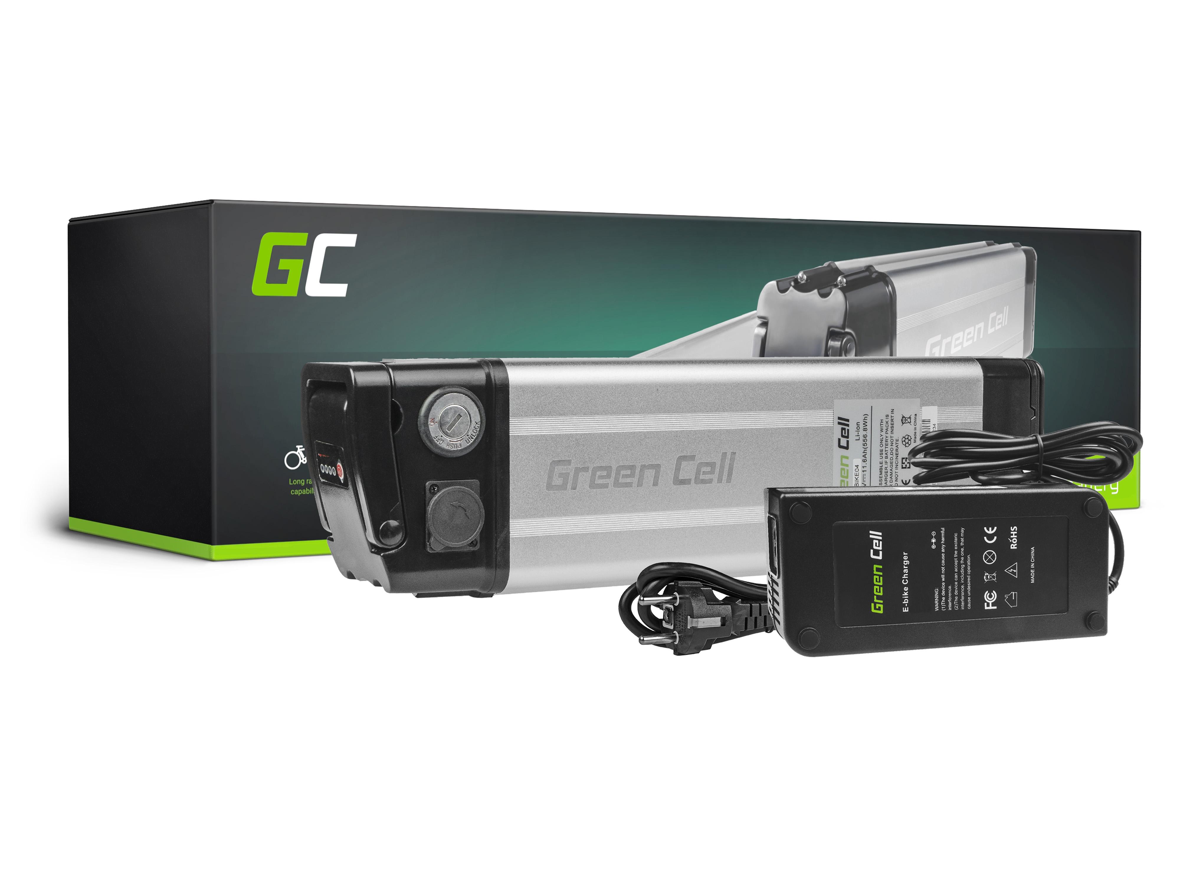 Elektrofahrradteile E-Bike 48V 11.6Ah Batterie Akku Fahrrad Wisper E-Mootika Goplus