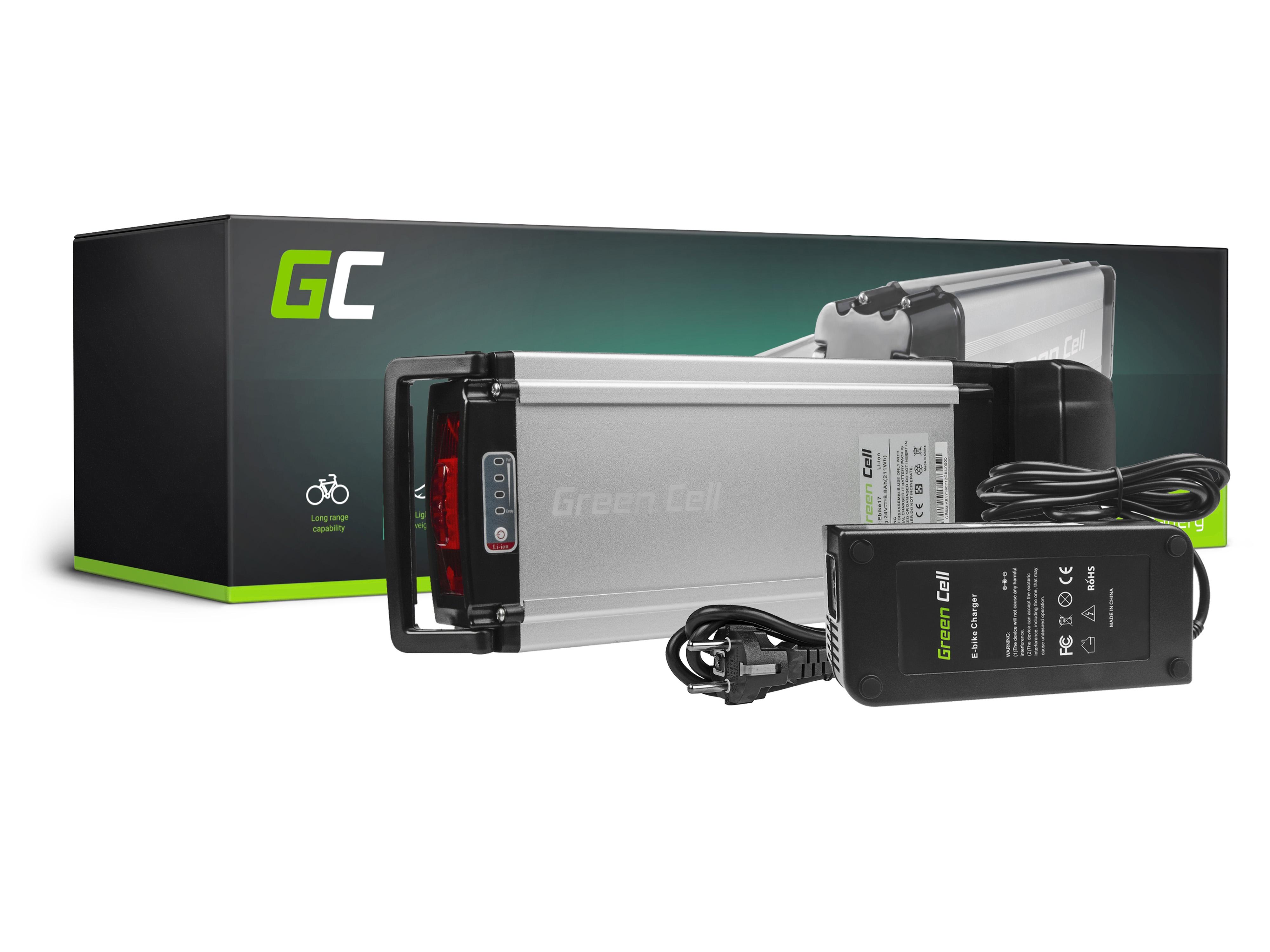 E-Bike 24V 8.8Ah Akku Pedelec Rear Rack Breeze Scott IZIP Batavus Crussis Fahrradteile & -komponenten Elektrofahrradteile
