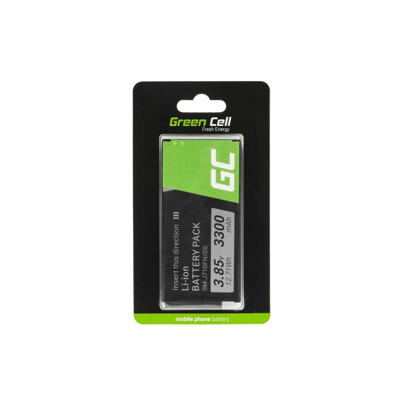 Batterie Green Cell ® für das Telefon Samsung Galaxy Grand Prime, Samsung Galaxy J5, Samsung Galaxy J3